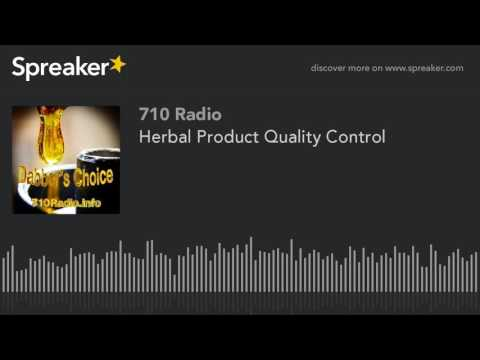 Herbal Product Quality Control