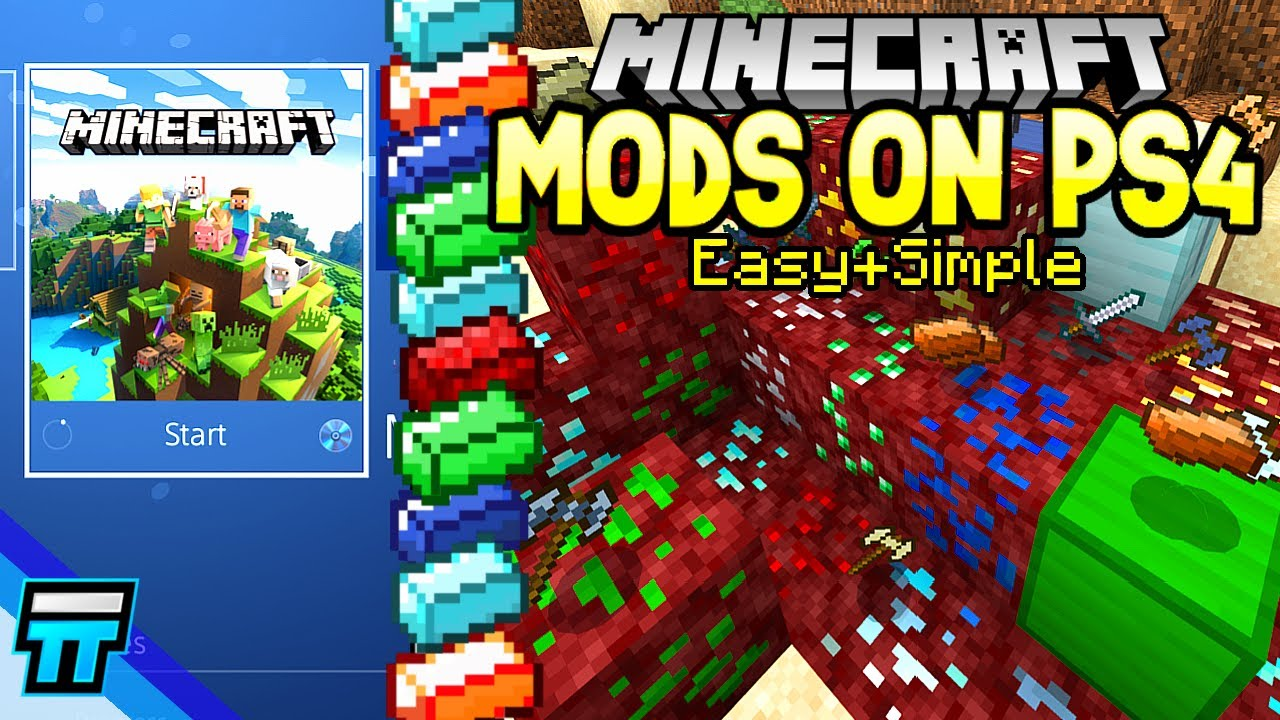 How To Get Mods on Minecraft PS4 Bedrock Edition Minecraft PS4