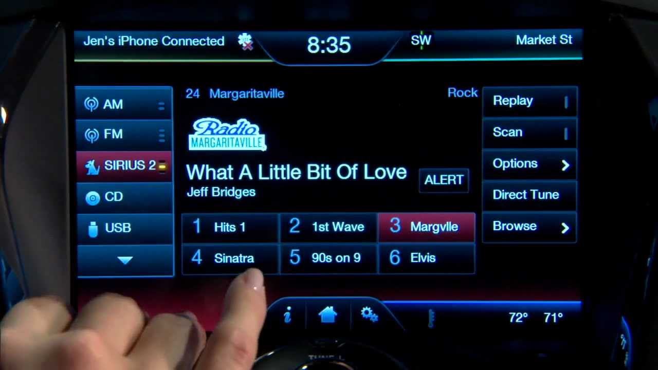 ford escape 2013 myford touch navigation manual hd youtube rh youtube com myford touch user manual MyFord Touch Radio and Map