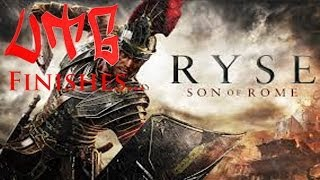 """UTG Finishes Ryse: Son Of Rome Part 7 Chapter 7 """"Gladiator"""" General Commodus Boss Battle (XBOX ONE)"""