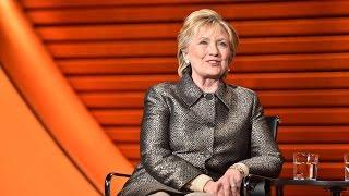 "Hillary Clinton: ""As a person I"