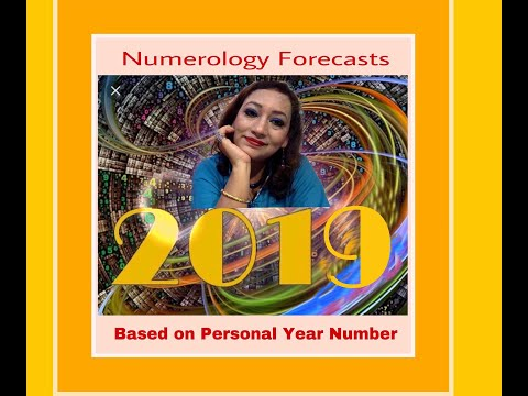 Numerology Forecast 2018 based on your Personal Year Number ( in English)