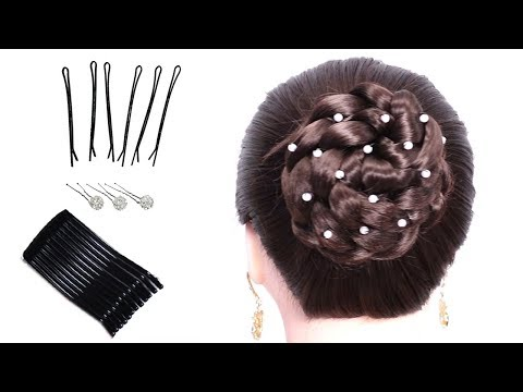 37 Braided Hairstyle Personalities for School Girls 👍 Hairstyle Tutorial 👍 Bun Hairstyles 2019 thumbnail