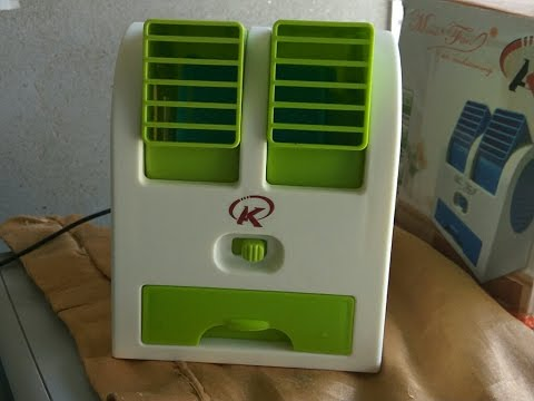 Mini Ac Air Cooler Unboxing To Much Cool Youtube