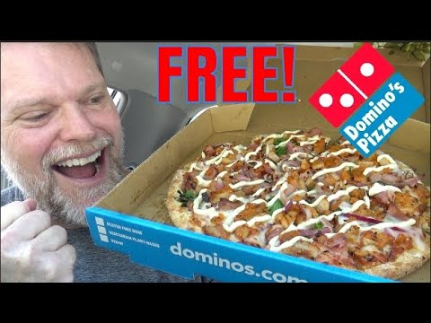 How to Get FREE PIZZA From Dominos!