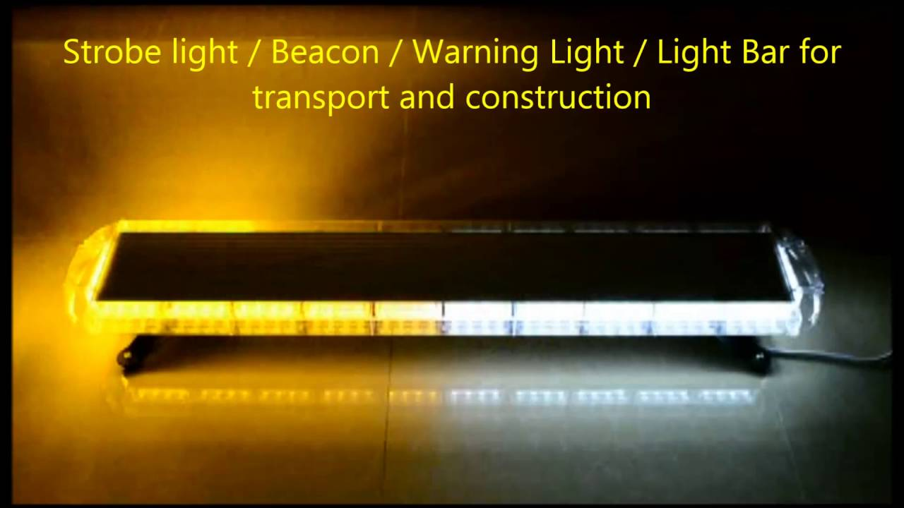 Led Light Bar Amber