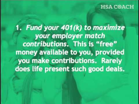 401k or HSA? How to Balance Contributions to Both