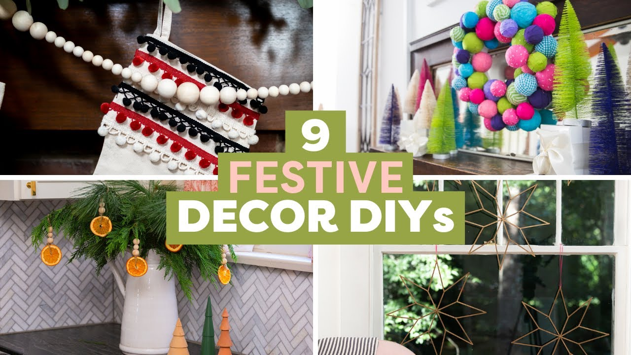 Festive Holiday DIY Projects