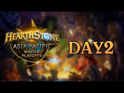 Hearthstone Asia-Pacific Playoff Day2