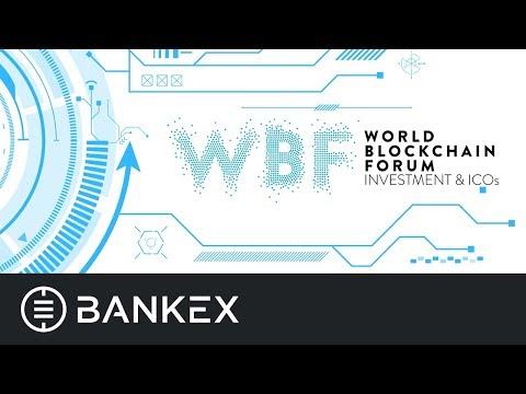 BANKEX presentation at World Blockchain Forum 2017 in London