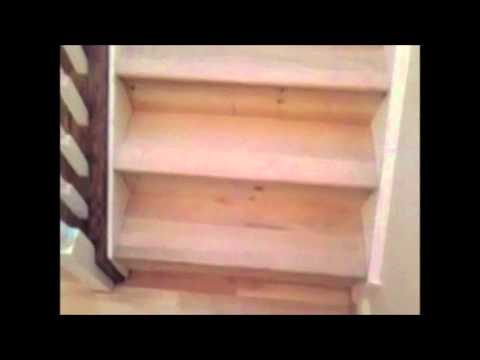 Corkery Woodworks Oak Staircase Treads & Flooring installation
