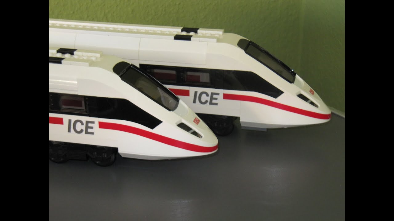 Lego Eisenbahn ICE 3 9 Volt Zug 4 2015 Train   YouTube Lego Eisenbahn ICE 3 9 Volt Zug 4 2015 Train