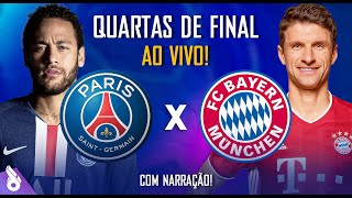 PSG X BAYERN DE MUNIQUE - Champions League AO VIVO