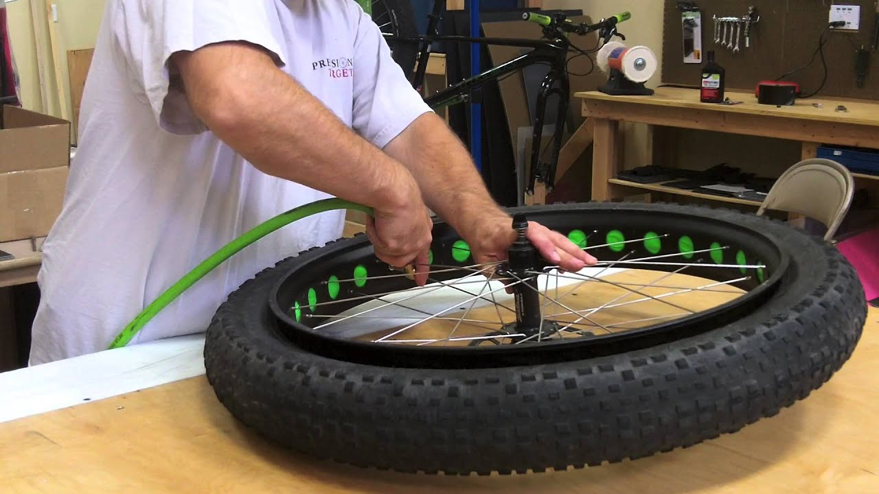 Tubeless Fatbike Set Up Youtube