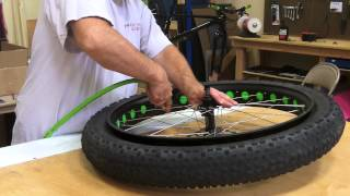 Tubeless Fatbike Set-up