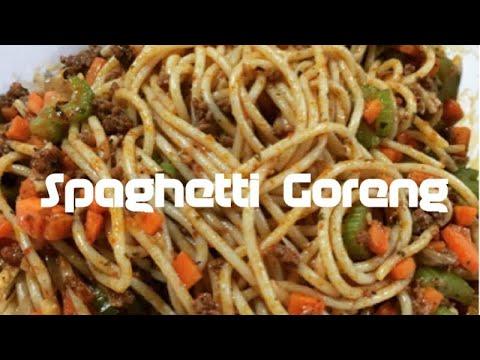 Resepi Spaghetti Goreng Youtube