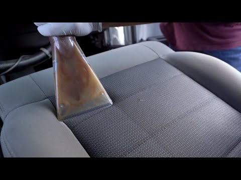 Deep Cleaning Nasty Car Seat