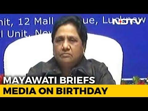 Mayawati's '2019' Appeal To Uttar Pradesh On Her Birthday
