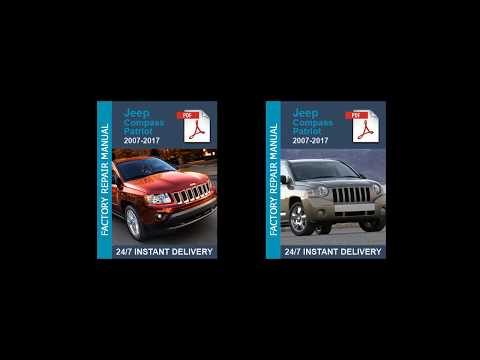 2007 jeep compass factory service manual