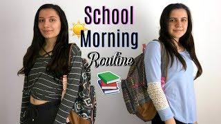 SCHOOL MORNING ROUTINE 2018!