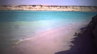 See exclusive video first waves in the new Suez Canal February 2015