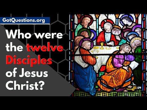 Who were the Twelve Disciples of Jesus Christ     12 Apostles  12 Disciples Names List