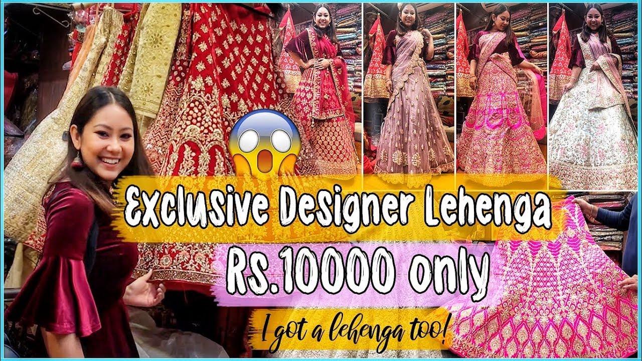c7fbcaa15ce2a LEHENGA SHOPPING IN CHANDNI CHOWK   Cheap to Expensive Designer Lehengas!  Bridal/NonBridal – Shopping time