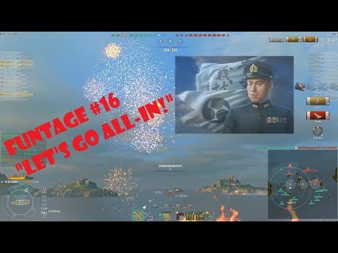 World of Warships - Naval Funtage #16 (