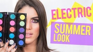 Electric Summer Night Look Thumbnail