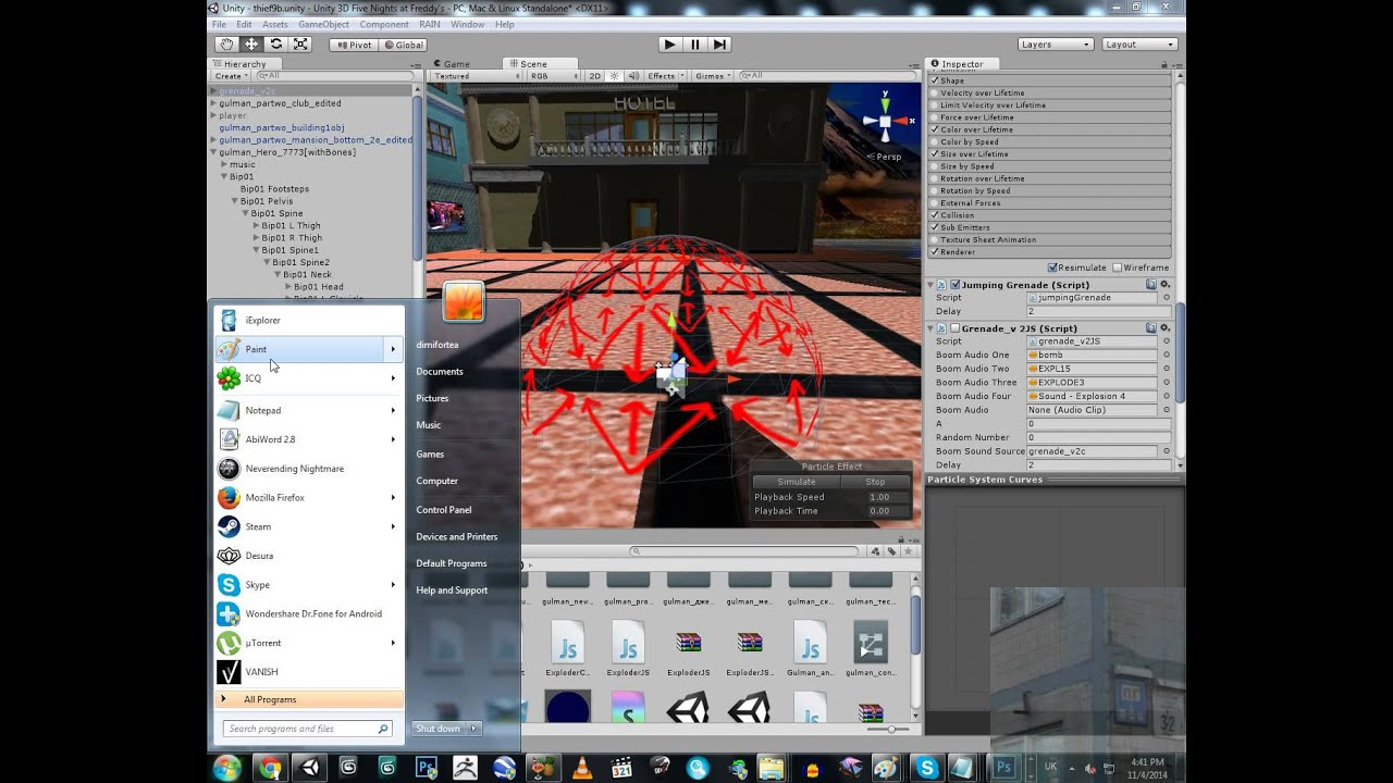 Unity 3D - GRENADE EXPLOSION WITH REAL PHYSICS [TUTORIAL ...