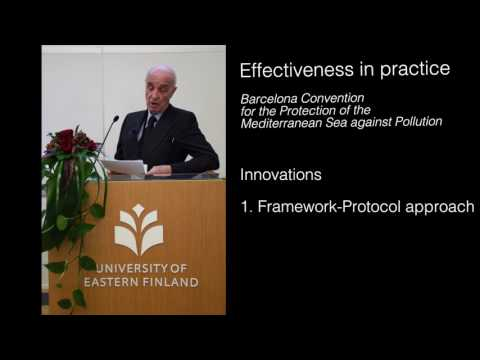 Treaty effectiveness in practice - The Barcelona Convention