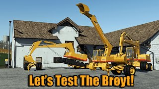FS19   Testing The Brøyt X20 and X20T   Work In Progress