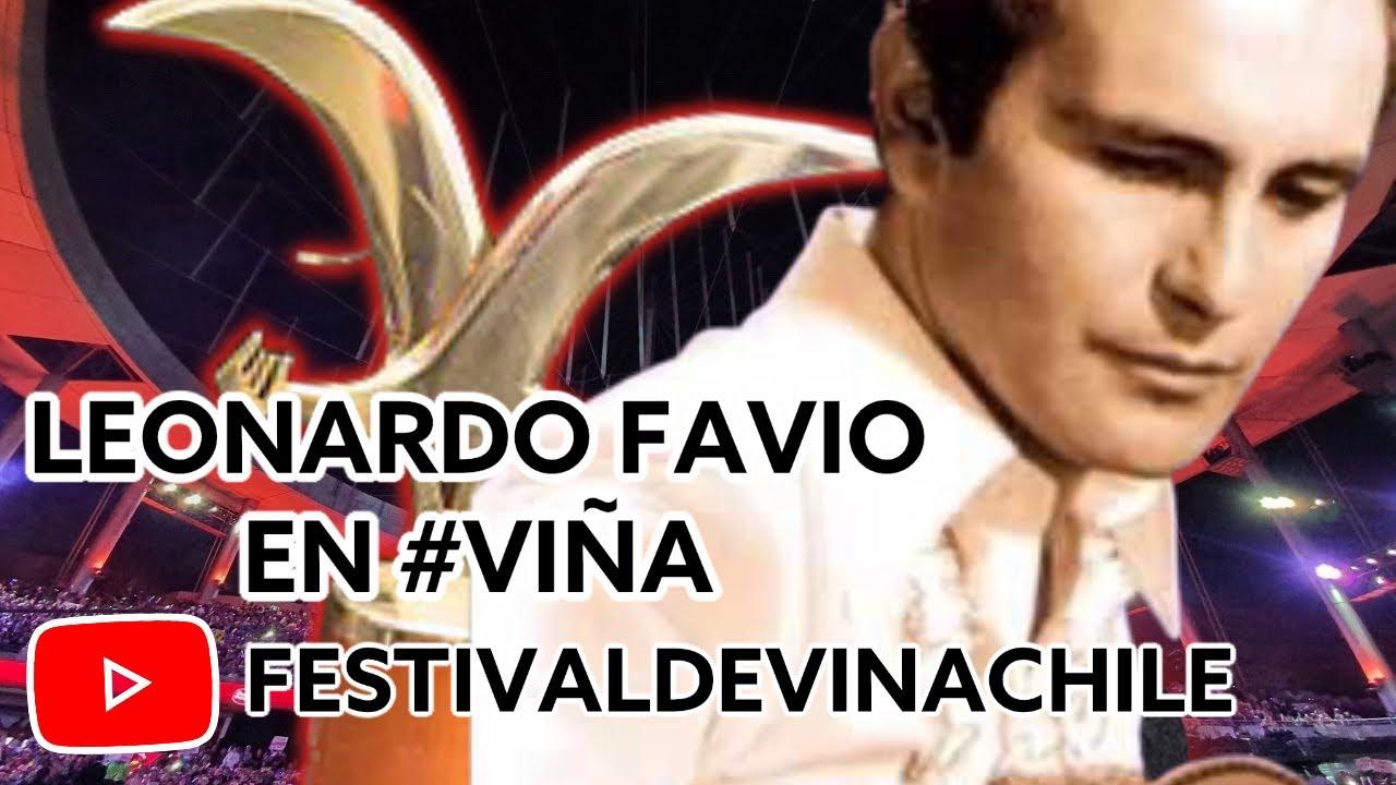 Leonardo Favio - Fuiste mía un verano - Festival de Viña ...