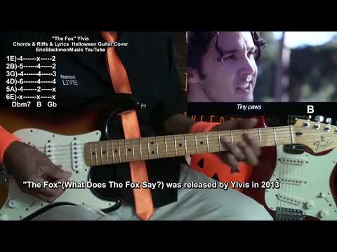 What Does The FOX Say? Ylvis Guitar Chords Riffs TABS & Lyrics Cover🎸