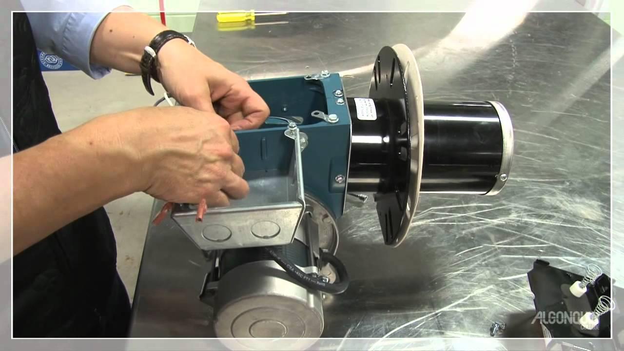 medium resolution of oil burner assembly