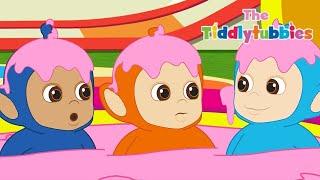 Teletubisie Po Polsku 2 - Tiddlytubbies NOWY: Basen kąpielowy Tubby Custard (Pełny odcinek)