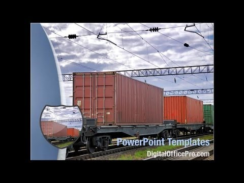Train container powerpoint template backgrounds digitalofficepro train container powerpoint template backgrounds digitalofficepro 00009 toneelgroepblik Images