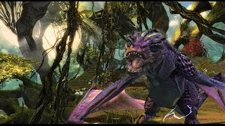 Guild Wars 2: Heart of Thorns - Juvenile Electric Wyvern Location