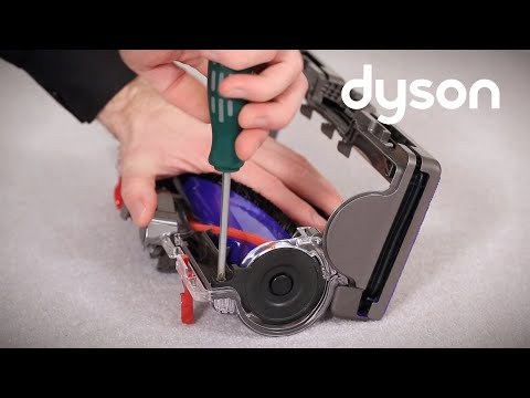 Dyson Small Ball, Dyson Ball Compact, DC50 and DC51 upright vacuums - Replacing the brush bar (UK)