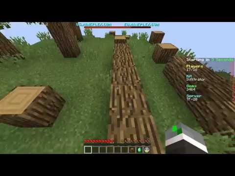 Minecraft Turf Wars Mineplex Season 3 Ep 4 ''Fly hackers are Real''
