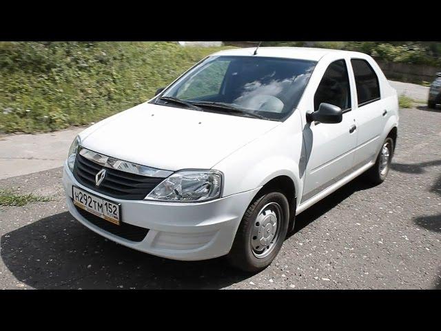 Тест-драйв Рено Логан с автоматом (Renault Logan) (Babzor.ru)