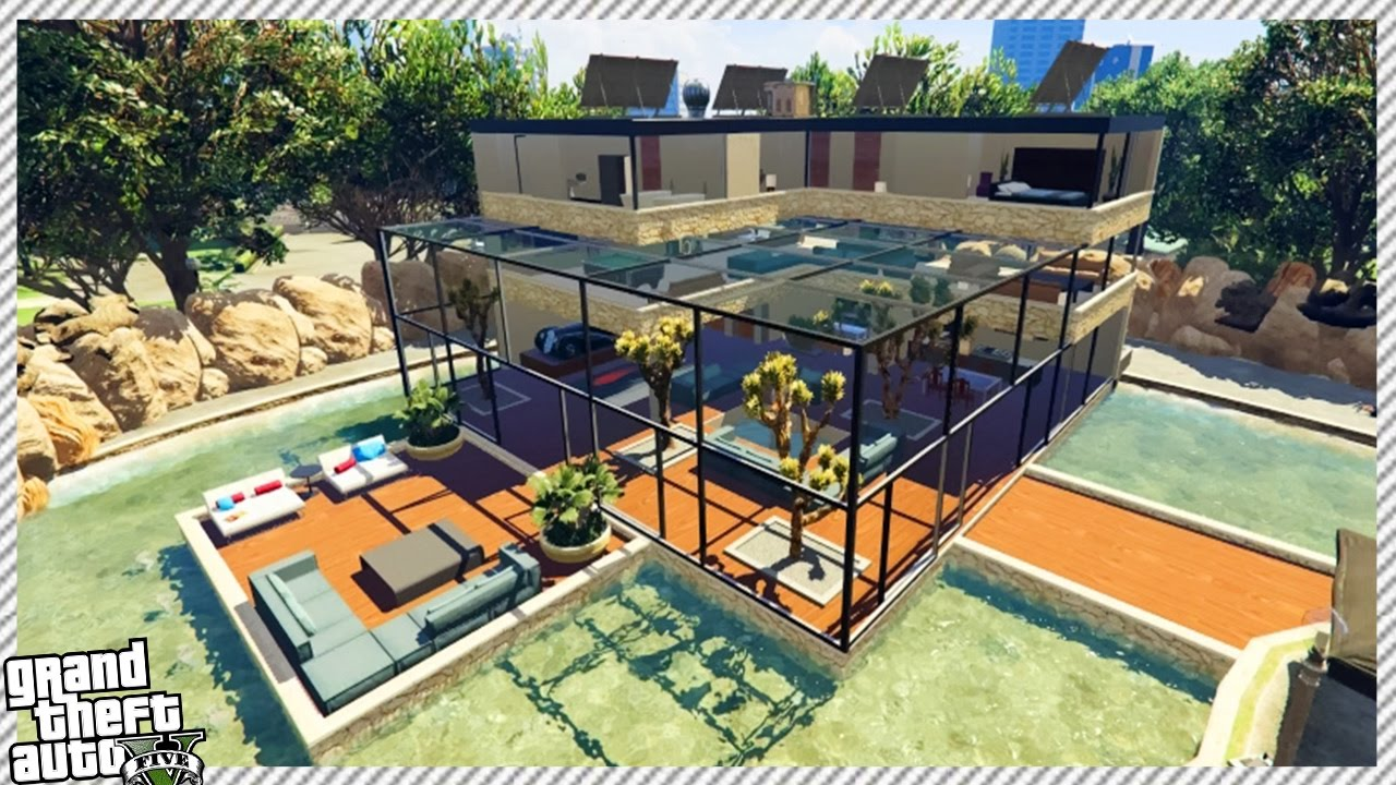 FRANKLIN BUY NEW MILLION DOLLAR CITY HOUSE IN GTA 5!!
