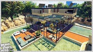 FRANKLIN BUY NEW MILLION DOLLAR CITY HOUSE IN GTA 5!!
