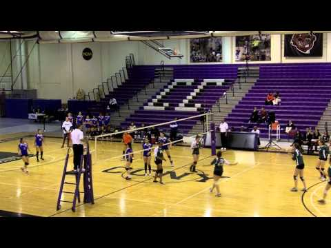 2012 PSAL Girls Volleyball Semifinal - Cardozo vs Bronx Science - Set 1