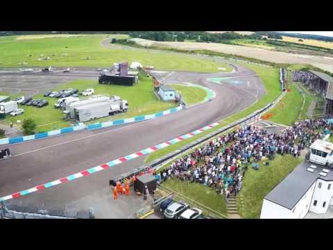 British Superbike Championship at Thruxton - Aerial Footage 2016