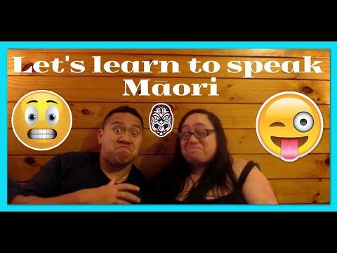 Let's learn to speak Māori