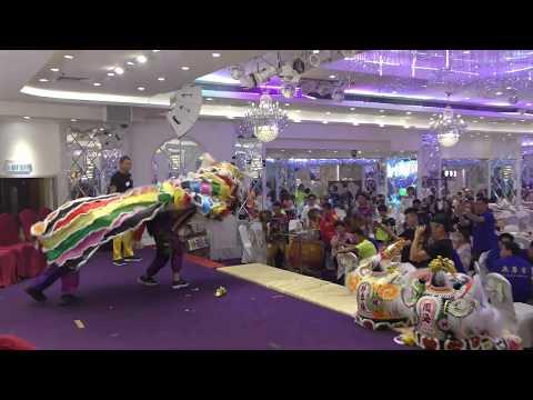 Human Mobile Stage 122A, 2018 Chau Biu Banquet, Lion Dance Kung Fu