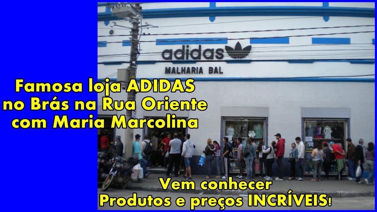 bfb9f426a Famosa Loja Adidas no Brás!  DIVANDONOBRÁS - YouTube