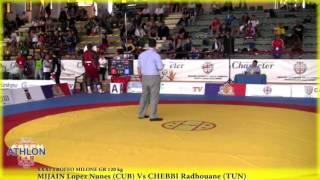 120 кг. Mijain Lopez vs Chebbi Radhouane
