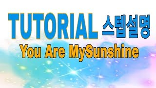 You Are My Sunshine Line Dance TUTORIAL(스텝설명)